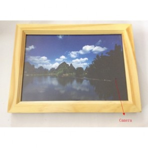 Digital Photo Frame Camera DVR - 16GB Remote Control Hidden Digital Photo Frame Pinhole Camera DVR
