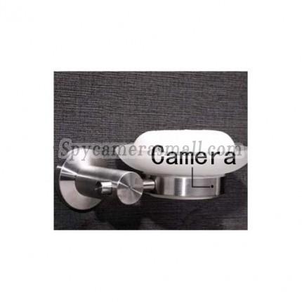 Soap Box Hidden Bathroom Spy Cams DVR - Stainless steel Soap Box HD Bathroom Spy Camera DVR 16GB 1280x720P 5.0 Mega Pixel