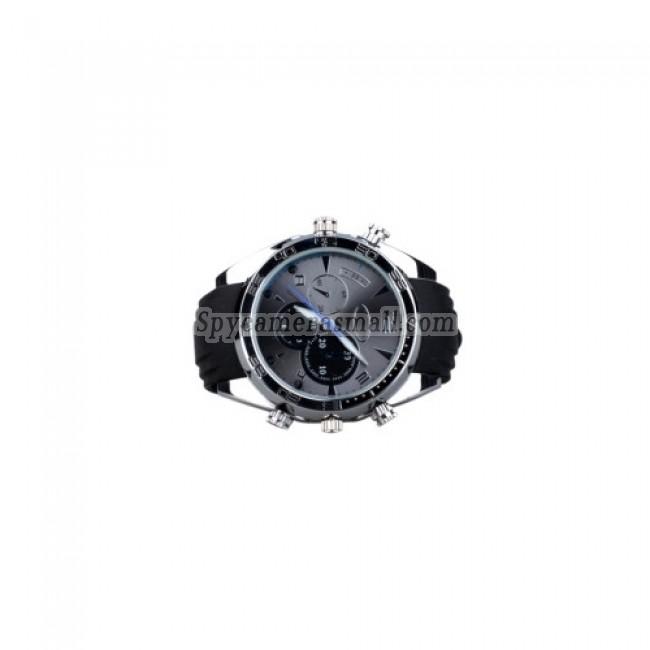 HD hidden Spy Watch Camera - IR Night Vision Wristwatch with 8GB Memory+Waterproof Function,HD Camera