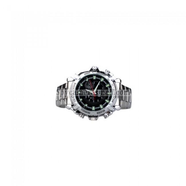 Spy Watch Cam - HD IR Night Vision Waterproof Spy Watch (4GB)
