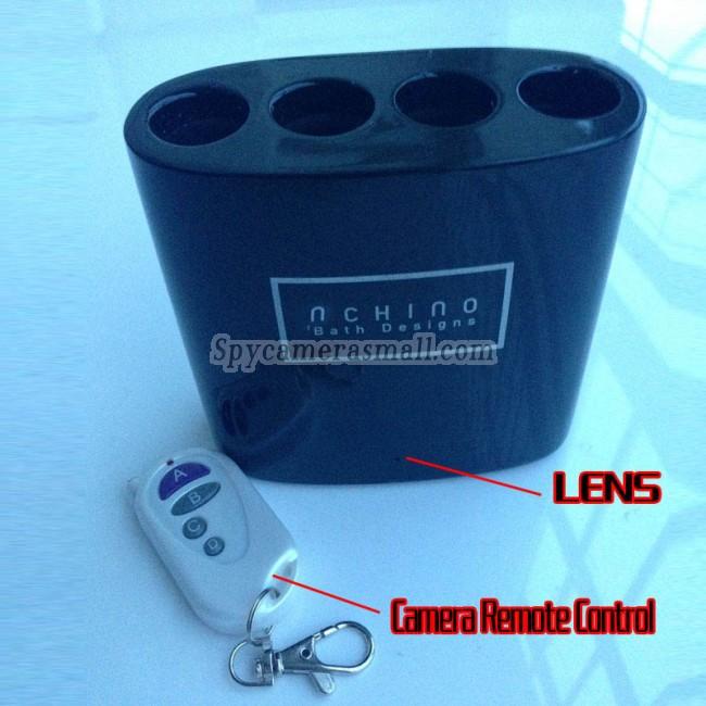зубная щетка стойки скрытые камера видеонаблюдения DVR 16ГБ 1080P Шпионская Камера  с датчиком движения Лучший Шпионская Камера для Ванной Комнаты