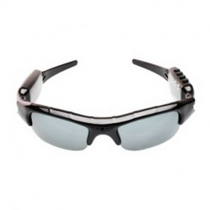hidden Spy Sunglasses Camera - 640x480 30fps Sunglasses Spy Camera DVR with MP3 Video Recorder Photographing Charging/ Hidden Camera