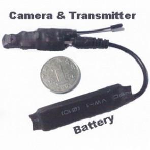 Professional wireless hidden Spy Camera - 2.4ghz Wireless Camera Transmitter The Samllest Camera in Size